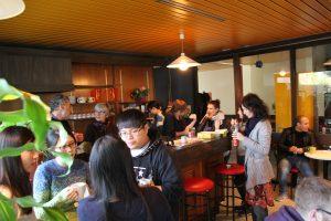 Pause café au CILFA - moment de parler Français
