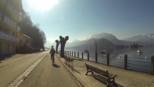 Video tour du lac Annecy