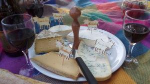 Dégustation de fromages savoyards