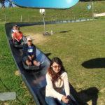 Descente en luge d'été au Semnoz