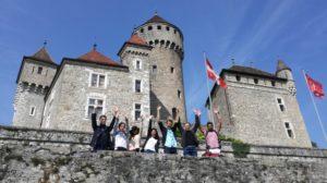 Le CILFA au château de Montrottier