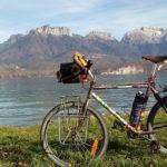 Le vélo de voyage de Frédéric