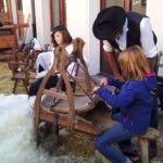 Un métier traditionnel lors du Retour des Alpages