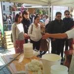 La fabrication du fromage lors du Retour des Alpages