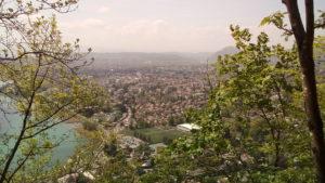 Vue sur Annecy-le-Vieux et Annecy