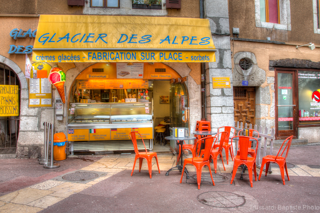 Le Glacier des Alpes