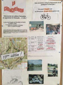 L'affiche de la CilfaCyclette