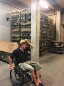 Arrivée de la CilfaCyclette chez Frédéric