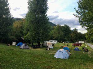 Le camping d'Albertville