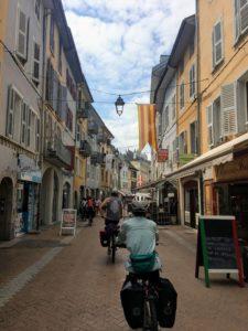 Entrée à Chambéry