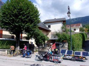 Le vélo solaire de Michel