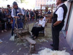 La fabrication de la laine