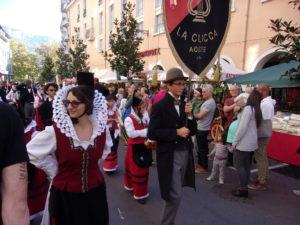 Costumes traditionnels des Alpes